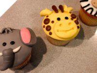 cupcakes de animales de la selva ii