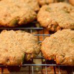 galletas de avena con pepitas de calabaza