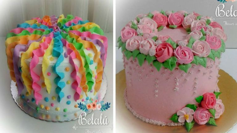 Simple Cake Decoration For Mothers Day