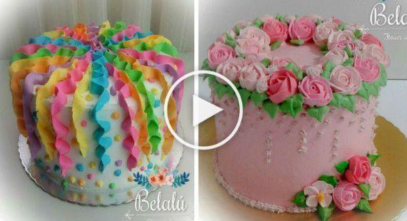 20 decoraciones sorprendentes para tortas de cumplea os On decoraciones faciles para cumpleanos