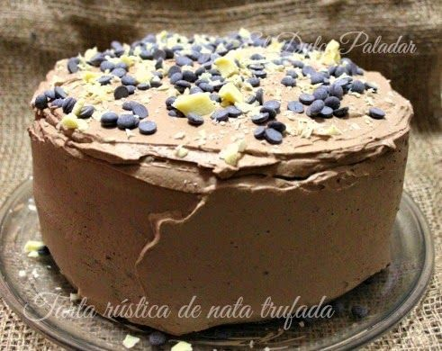 tarta-rustica-de-nata-trufada