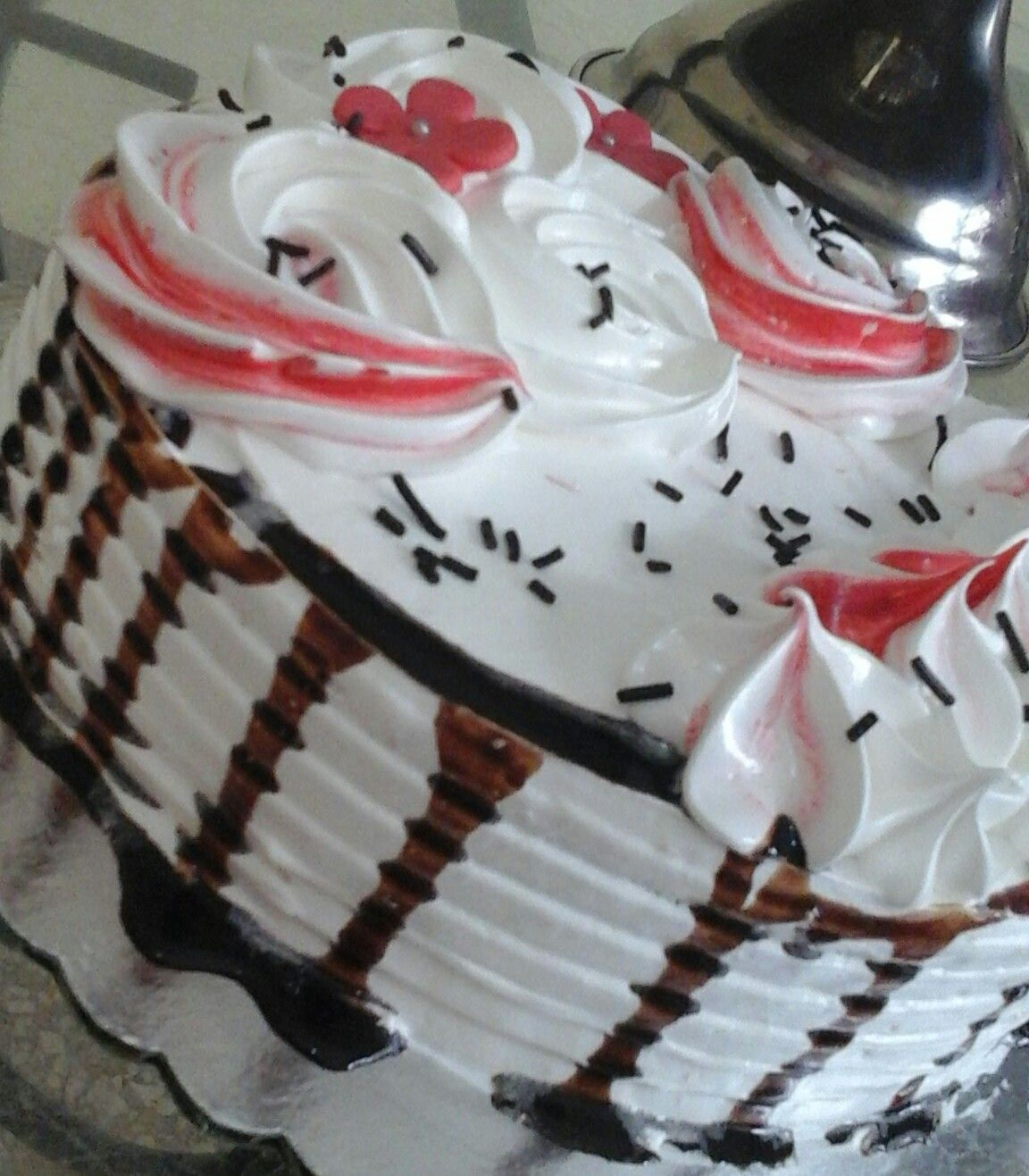 tarta-cubierta-con-nata