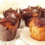 Muffins de plátano y Nutrella