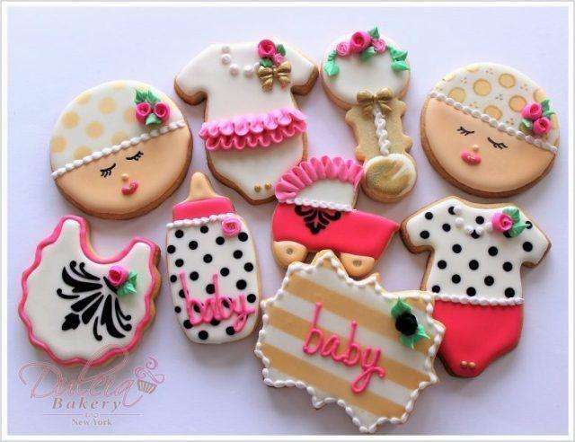 galletas decoradas para baby shower de niña