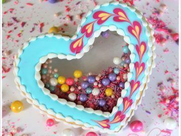 galletas piñata con sprinkles