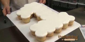 numeros con cupcakes