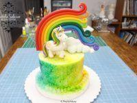 tarta unicornio