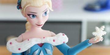Frozen : Torta / Pastel decorado de Elsa, Olaf y Anna