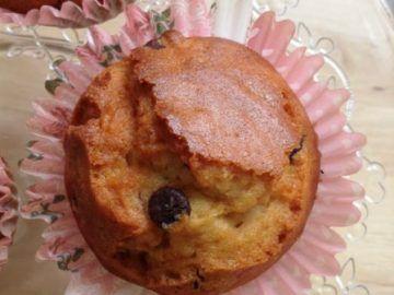 cupcakes con trocitos de chocolate sin azucar