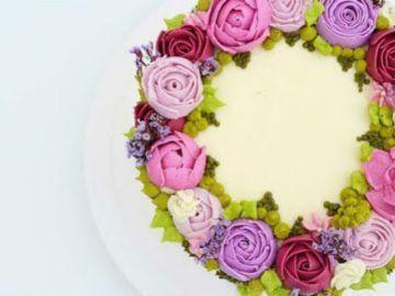 curso intensivo flores de buttercream