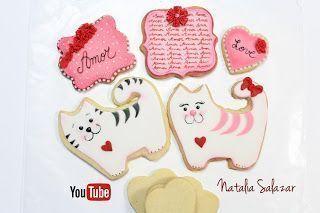 Decoración de galletas con fondant