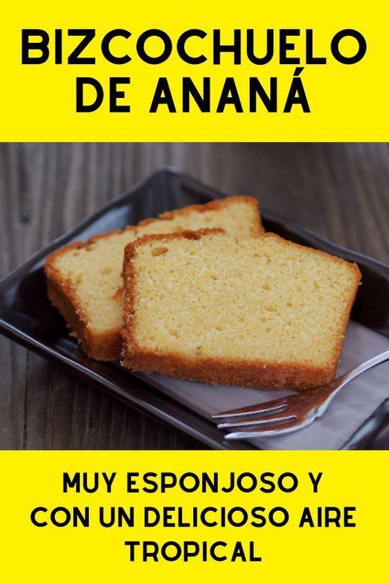 BIZCOCHUELO DE ANANA