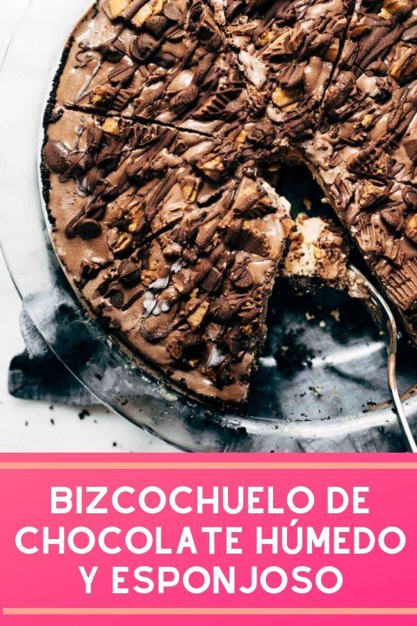 Bizcochuelo De Chocolate Húmedo Esponjoso Y Fácil Receta
