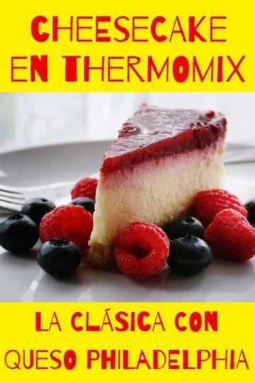 Cheesecake en Thermomix