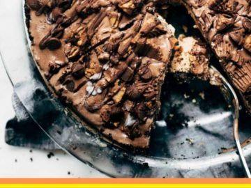 TORTA DE MANI Y CHOCOLATE