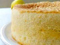 Bizcocho suave de limón