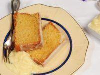 receta de budín glaseado de limón