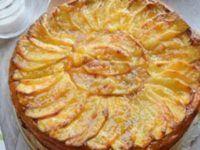 Tarta de manzana fácil con galletas María