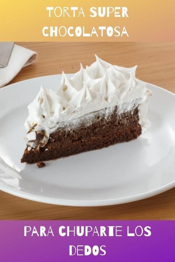 torta super chocolatosa para chuparte los dedos