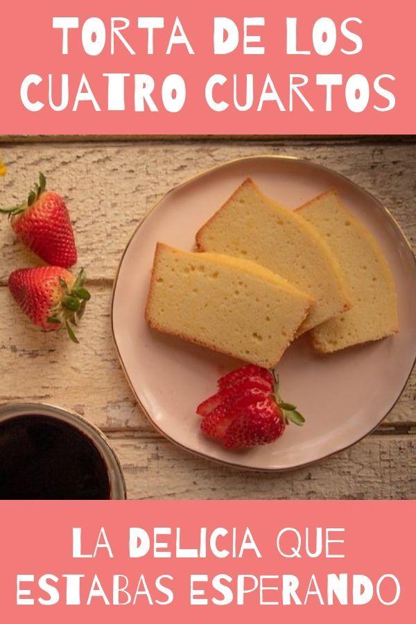 la torta de los 4 cuartos! te va a fascinar