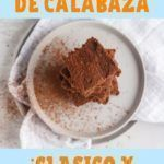 receta de bizcochuelo de calabaza