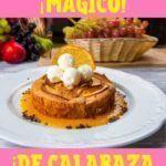receta de bizcochuelo de calabaza y zanahoria