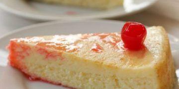 cheesecake al microondas