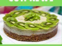 cheesecake con kiwi