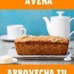 receta de bizcochuelo de naranja sin azúcar