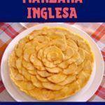 tarta de manzana inglesa