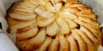 tarta de manzana sin hojaldre