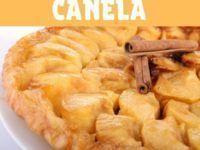 tarta de manzana y canela
