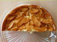 tarta de manzana y gelatina