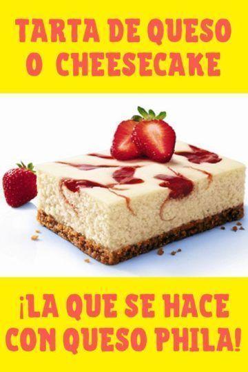 cheesecake de queso philadelphia