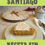 tarta de santiago sin azúcar