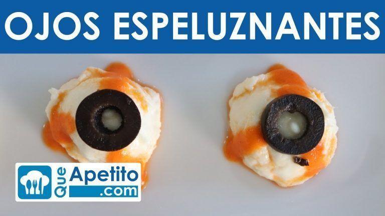 Receta para Halloween: Ojos Espeluznantes | QueApetito