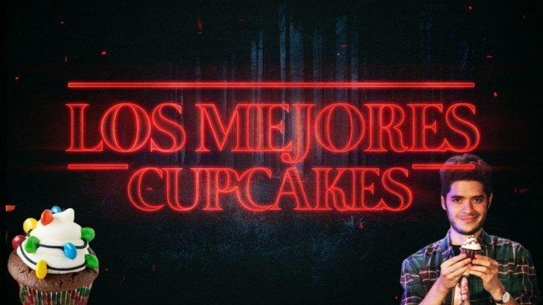 CUPCAKES de Chocolate de STRANGER THINGS / Repostería FÁCIL /Recetas de Halloween 🔥