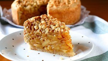 Tarta de manzana de otoño fácil y rápida - Recetas de postres fáciles