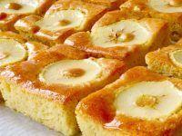 Bizcocho de manzana paso a paso. SIN aceite ni mantequilla