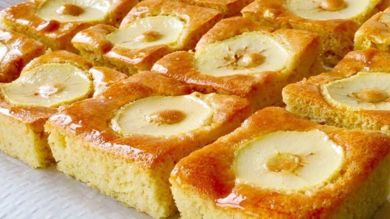 torta de manzana sin manteca ni aceite