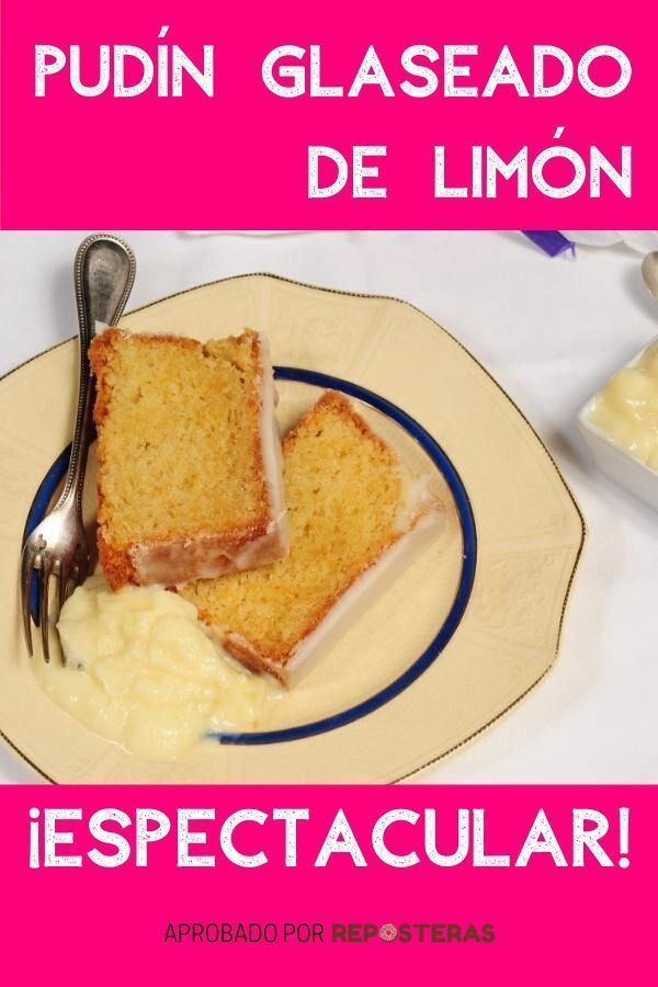 Pudín-glaseado-de-limón