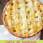 Tarta de manzana y mango combinación favorita