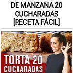 Como hacer TORTA DE MANZANA 20 CUCHARADAS [RECETA FÁCIL]