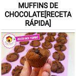 Como preparar muffins de chocolate[RECETA RÁPIDA]