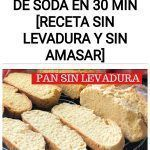 Como hacer PAN DE SODA en 30 min [receta SIN LEVADURA y sin amasar]