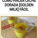 Cómo hacer LECHE DORADA [golden milk] fácil