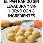 Tortitas de trigo, el pan rápido SIN levadura y SIN horno con 3 ingredientes