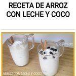 Receta de ARROZ CON LECHE Y COCO