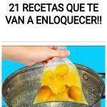 21 Recetas que te van a enloquecer!!