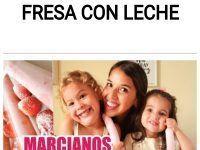 MARCIANOS DE FRESA CON LECHE